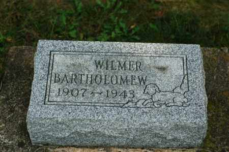 BARTHOLOMEW, WILMER - Tuscarawas County, Ohio | WILMER BARTHOLOMEW - Ohio Gravestone Photos