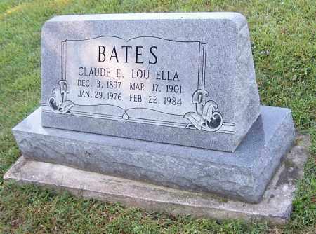 BATES, CLAUDE E. - Tuscarawas County, Ohio   CLAUDE E. BATES - Ohio Gravestone Photos