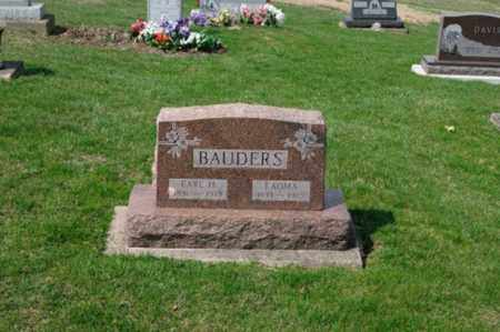 BAUDERS, EARL H. - Tuscarawas County, Ohio   EARL H. BAUDERS - Ohio Gravestone Photos