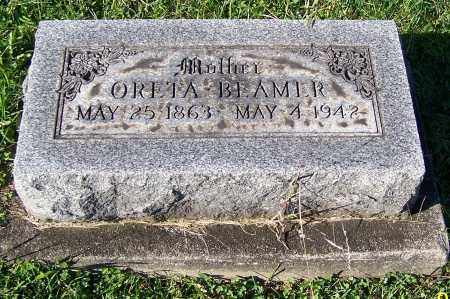 SKEELES BEAMER, ORETA - Tuscarawas County, Ohio | ORETA SKEELES BEAMER - Ohio Gravestone Photos