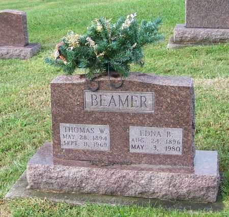 BEAMER, EDNA B. - Tuscarawas County, Ohio | EDNA B. BEAMER - Ohio Gravestone Photos