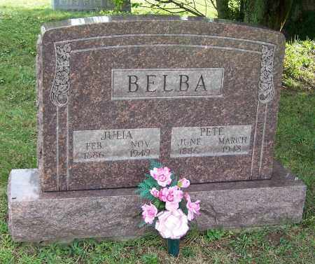 BELBA, JULIA - Tuscarawas County, Ohio | JULIA BELBA - Ohio Gravestone Photos