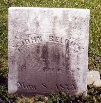 BELCH, JOHN - Tuscarawas County, Ohio | JOHN BELCH - Ohio Gravestone Photos