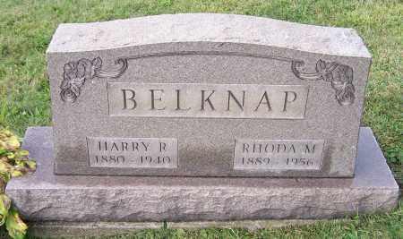 BELKNAP, HARRY R. - Tuscarawas County, Ohio   HARRY R. BELKNAP - Ohio Gravestone Photos