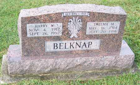 BELKNAP, THELMA M. - Tuscarawas County, Ohio   THELMA M. BELKNAP - Ohio Gravestone Photos