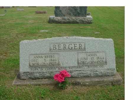 BERGER, ANNA - Tuscarawas County, Ohio | ANNA BERGER - Ohio Gravestone Photos