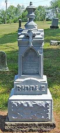 BIDDLE, FREDERIC - Tuscarawas County, Ohio | FREDERIC BIDDLE - Ohio Gravestone Photos
