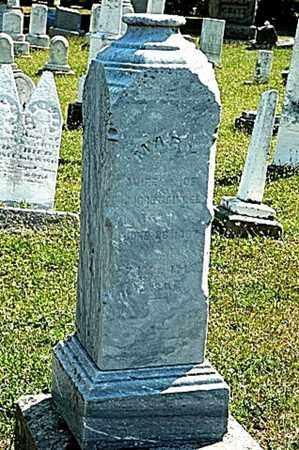 CHRISTMAN BIDDLE, MARY - Tuscarawas County, Ohio | MARY CHRISTMAN BIDDLE - Ohio Gravestone Photos