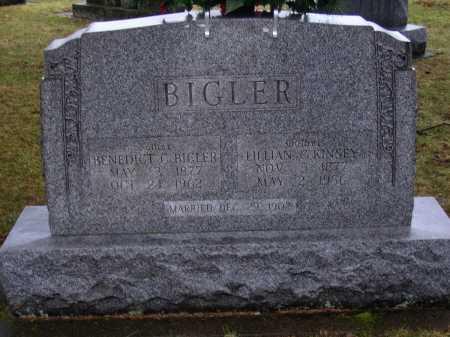 KINSEY BIGLER, LILLIAN G. - Tuscarawas County, Ohio | LILLIAN G. KINSEY BIGLER - Ohio Gravestone Photos