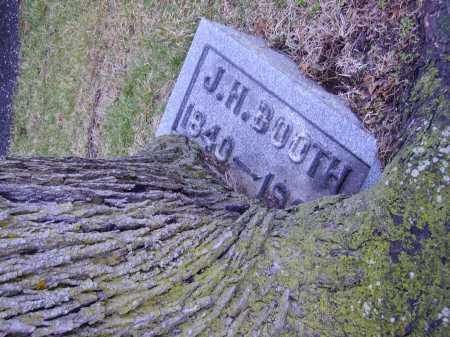 BOOTH, JOHN HENRY - Tuscarawas County, Ohio | JOHN HENRY BOOTH - Ohio Gravestone Photos