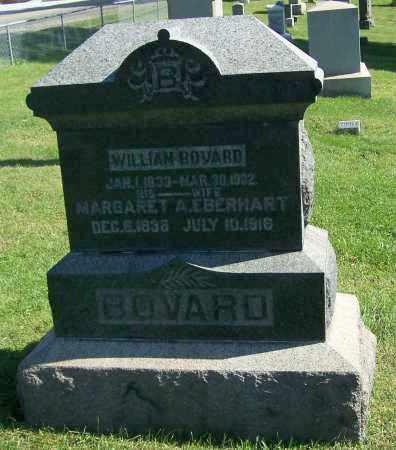 BOVARD, WILLIAM - Tuscarawas County, Ohio | WILLIAM BOVARD - Ohio Gravestone Photos