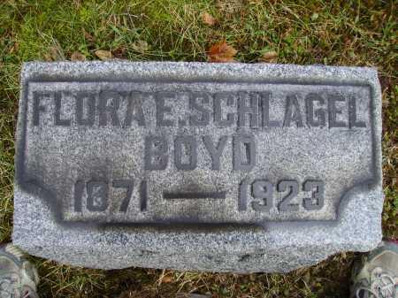 BOYD, FLORA E. - Tuscarawas County, Ohio | FLORA E. BOYD - Ohio Gravestone Photos