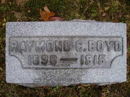 BOYD, RAYMOND C. - Tuscarawas County, Ohio   RAYMOND C. BOYD - Ohio Gravestone Photos
