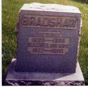 BRADSHAW, GEORGE - Tuscarawas County, Ohio | GEORGE BRADSHAW - Ohio Gravestone Photos