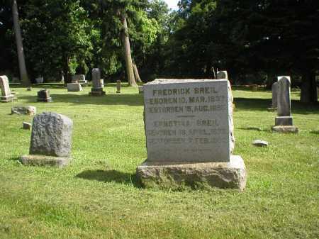 BREIL, FREDERICK - Tuscarawas County, Ohio | FREDERICK BREIL - Ohio Gravestone Photos