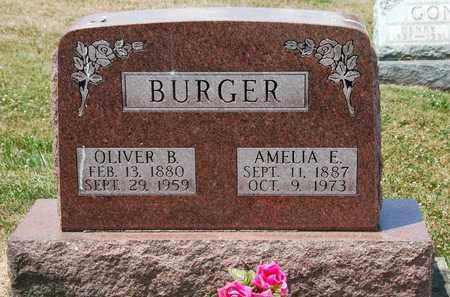 FENDER BURGER, AMELIA E. - Tuscarawas County, Ohio | AMELIA E. FENDER BURGER - Ohio Gravestone Photos