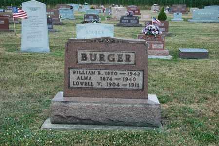 ROW BURGER, ALMA - Tuscarawas County, Ohio | ALMA ROW BURGER - Ohio Gravestone Photos