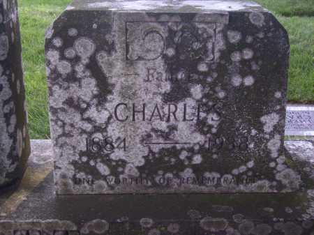 BURGETT, CHARLES - CLOSE VIEW - Tuscarawas County, Ohio | CHARLES - CLOSE VIEW BURGETT - Ohio Gravestone Photos
