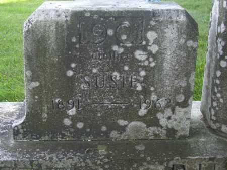 BURGETT, SUSIE - CLOSEVIEW - Tuscarawas County, Ohio | SUSIE - CLOSEVIEW BURGETT - Ohio Gravestone Photos