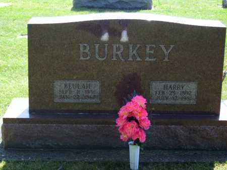 BURKEY, BEULAH - Tuscarawas County, Ohio | BEULAH BURKEY - Ohio Gravestone Photos