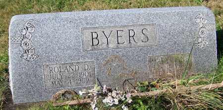 BYERS, MARY JANE - Tuscarawas County, Ohio | MARY JANE BYERS - Ohio Gravestone Photos