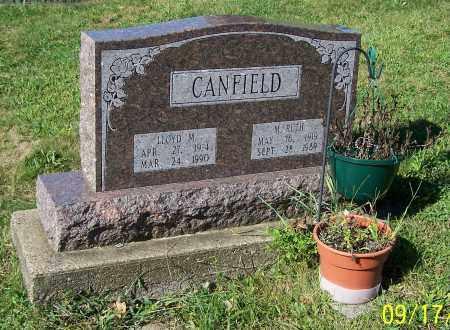 CANFIELD, LLOYD M. - Tuscarawas County, Ohio | LLOYD M. CANFIELD - Ohio Gravestone Photos