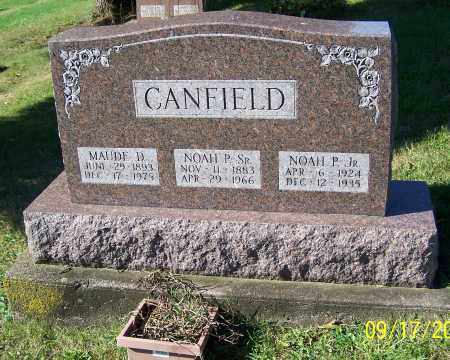 CANFIELD, MAUDE D. - Tuscarawas County, Ohio | MAUDE D. CANFIELD - Ohio Gravestone Photos