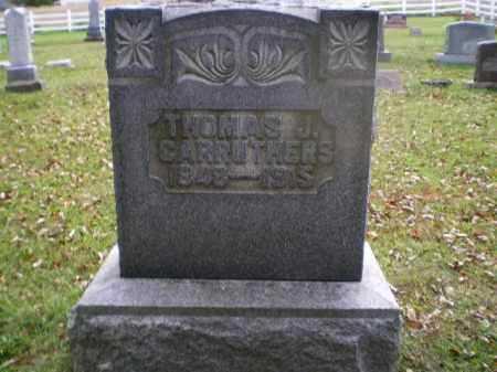 CARRUTHERS, THOMAS J - Tuscarawas County, Ohio | THOMAS J CARRUTHERS - Ohio Gravestone Photos