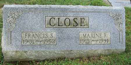 CLOSE, MAXINE R. - Tuscarawas County, Ohio | MAXINE R. CLOSE - Ohio Gravestone Photos