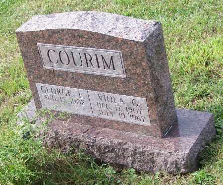 COURIM, VIOLA G. - Tuscarawas County, Ohio | VIOLA G. COURIM - Ohio Gravestone Photos