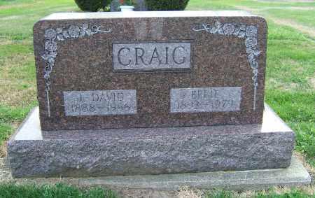 CASEY CRAIG, EFFIE - Tuscarawas County, Ohio | EFFIE CASEY CRAIG - Ohio Gravestone Photos