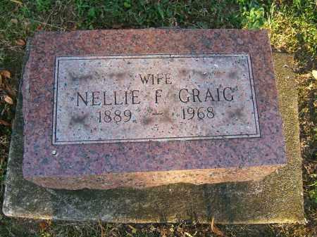 CRAIG, NELLIE F - Tuscarawas County, Ohio   NELLIE F CRAIG - Ohio Gravestone Photos