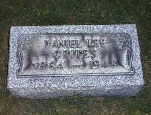 CRITES, DANIEL - Tuscarawas County, Ohio   DANIEL CRITES - Ohio Gravestone Photos