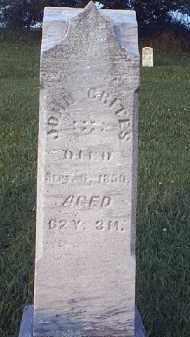 CRITES, JOHN - Tuscarawas County, Ohio   JOHN CRITES - Ohio Gravestone Photos