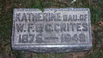 CRITES, KATHERINE - Tuscarawas County, Ohio | KATHERINE CRITES - Ohio Gravestone Photos