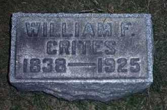 CRITES, WILLIAM F. - Tuscarawas County, Ohio   WILLIAM F. CRITES - Ohio Gravestone Photos