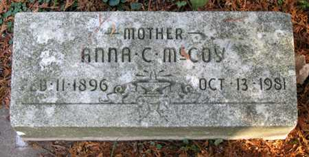 MCCOY CUNNINGHAM, ANNA C - Tuscarawas County, Ohio   ANNA C MCCOY CUNNINGHAM - Ohio Gravestone Photos