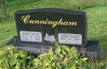 CUNNINGHAM, JOHN ALAN - Tuscarawas County, Ohio | JOHN ALAN CUNNINGHAM - Ohio Gravestone Photos