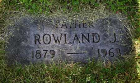 CURTIS, ROWLAND J. - Tuscarawas County, Ohio | ROWLAND J. CURTIS - Ohio Gravestone Photos