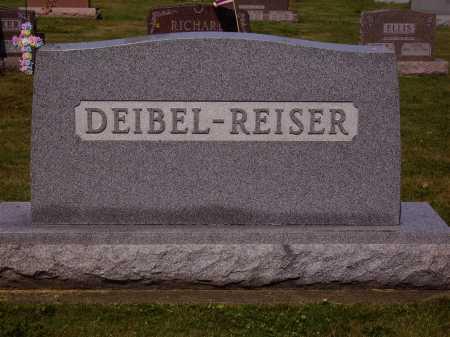 DEIBEL REISER FAMILY, MONUMENT - Tuscarawas County, Ohio   MONUMENT DEIBEL REISER FAMILY - Ohio Gravestone Photos