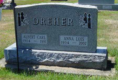 MIZER DREHER, ANNA LOIS - Tuscarawas County, Ohio | ANNA LOIS MIZER DREHER - Ohio Gravestone Photos