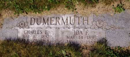 DUMERMUTH, CHARLES E. - Tuscarawas County, Ohio | CHARLES E. DUMERMUTH - Ohio Gravestone Photos