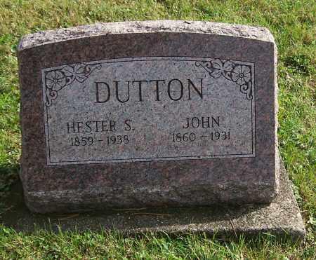 DUTTON, JOHN - Tuscarawas County, Ohio | JOHN DUTTON - Ohio Gravestone Photos