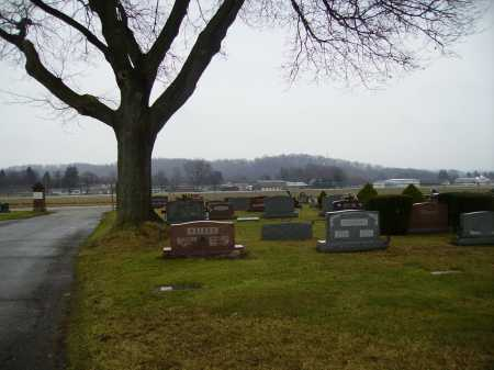 EAST AVENUE, CEMETERY OVERVIEW 3 - Tuscarawas County, Ohio | CEMETERY OVERVIEW 3 EAST AVENUE - Ohio Gravestone Photos