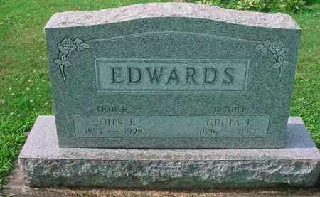 EDWARDS, GRETA P. - Tuscarawas County, Ohio | GRETA P. EDWARDS - Ohio Gravestone Photos