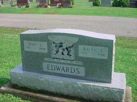 EDWARDS, MARY E - Tuscarawas County, Ohio   MARY E EDWARDS - Ohio Gravestone Photos