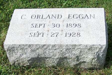 EGGAN, C.ORLAND - Tuscarawas County, Ohio   C.ORLAND EGGAN - Ohio Gravestone Photos