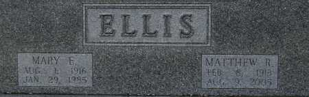 ELLIS, MATTHEW R. - Tuscarawas County, Ohio | MATTHEW R. ELLIS - Ohio Gravestone Photos