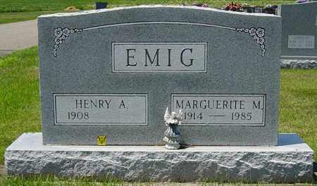 EMIG, HENRY A. - Tuscarawas County, Ohio | HENRY A. EMIG - Ohio Gravestone Photos