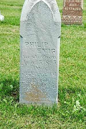 EMIG, PHILIP - Tuscarawas County, Ohio | PHILIP EMIG - Ohio Gravestone Photos